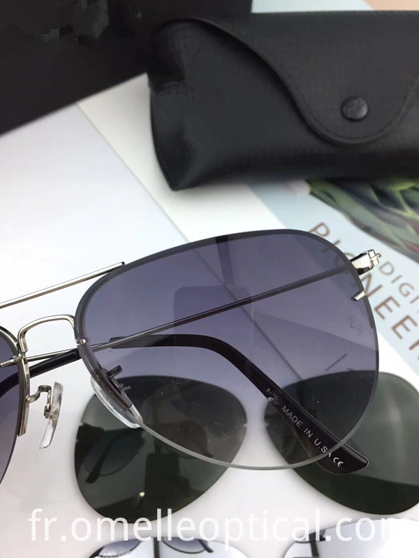 Unisex Rimless Sunglasses