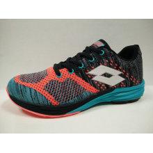 Zapatillas deportivas coloridas Fly Knit Wide Plantilla para las damas