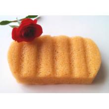Esponja de banho 100% natural vegetal vegetal konjac Esponja para limpeza corporal favorita do bebê