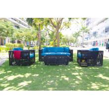 2017 Set de diseño simple sofá para jardín al aire libre