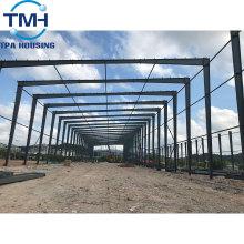 entrepôt d'usine de cadre en acier de structure métallique assemblé rapidement