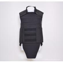 NIJ Standard Kevlar Black Protection - Chaleco antibalas táctico de protección completa