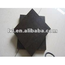 Precio competitivo melamine faced particle board black