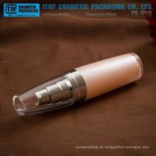 Inspección de calidad estricta de ZB-V10 10ml agradable alrededor de 10ml de doble capas de botellas de vacío de bala