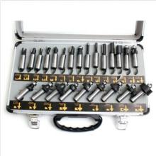 Набор бит для фрезы Набор битов для хвостовика Ящик для инструментов