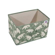 Декоративная коробка для папок с файлами