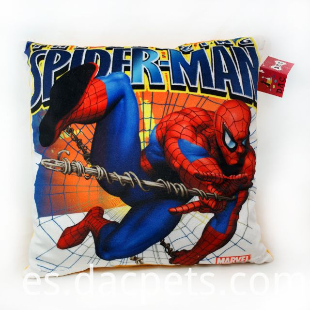 spiderman printing cushion