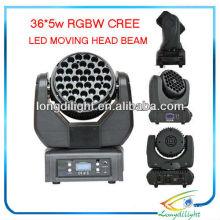 108 36 x 3W LED beweglicher Kopf
