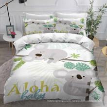3D Printed Bedding Set, Suitable for Duvet Cover Set, Koala