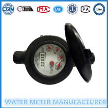 """1/2""-""3/4"" Nylon Plastic Multi-Jet Dry Dial Type Water Meter"