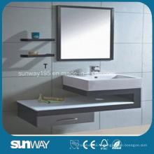 Горячий продавать шкаф ванной комнаты нержавеющей стали с зеркалом