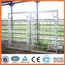 Stahlrohr Korral Zaunpaneele / verzinkte Rohr Pferd Zaun Paneele / Metall Vieh Bauernhof Zaun Panel