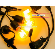 SL-09 STRING LIGHTS CORDS SETS guirlandes lumineuses d'extérieur décoratives LED BULBS UL CSA