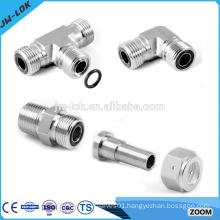 Butt weld high pressure hydraulic tube fittings