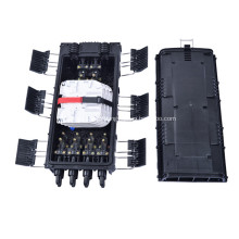 Caixa Inline 6 da junção da tala da fibra óptica da resistência de corrosão em 8 para fora
