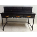 industrial metal drawer desk