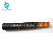 TW # 6 calibre fio de cobre encalhado isolado PVC THW fio
