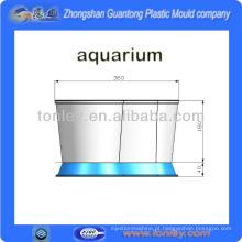 tanque de peixes de aquário importado do molde plástico