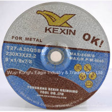 9′ Depressed Grinding Wheel for Stone and Glass with En12413