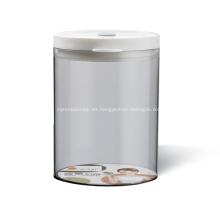 Almacenamiento de alimentos de plástico de 900 ml para azúcar y más