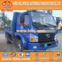 2016 newly produced 4X2 FOTON brand 5T 102hp lorry dump truck attractive and reasonable price for sale in Africa