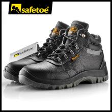 Новая модель защитной обуви, кожаные сапоги ISO 9001, противоскользящая защитная обувь