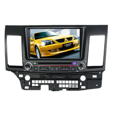 2DIN автомобильный DVD-плеер, пригодный для Mitsubishi Lancer 2006-2013 с радио Bluetooth стерео TV GPS навигационной системы