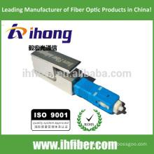 SC UPC Square Bare Fiber optical Adapter