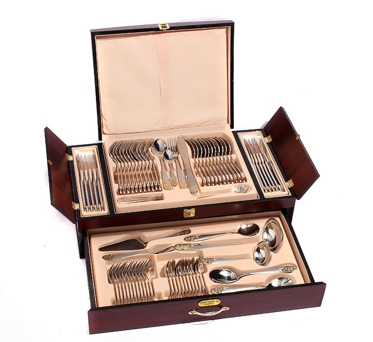 Stainless Steel 72pcs Cutlery Set