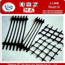 Plastic Geogrid Used in Steepening Slope Protection