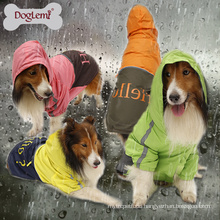 Hot Selling Wholesale Large Dog Raincoat Waterproof Pet Coat Clothes Portable