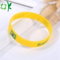 Fashion Colorful Promotional Silicone Wristband Custom Logo