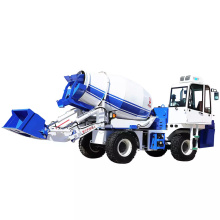auto loading concrete mixer truck mobile cement mixer price