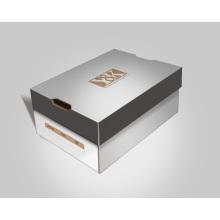 Papar Fashion Shoes Box con estampado en caliente Logo / UV Logo
