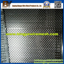 Métal perforé en acier inoxydable pour le revêtement