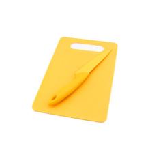 Rectangle PP chopping board w/o knife