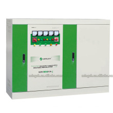 Regulador / estabilizador de voltaje de la CA de SBW-600k de tres fases