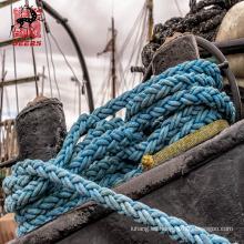 6 líneas de amarre de barco de polipropileno de 60 mm, cuerda de cola de amarre