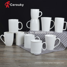 CIQ FDA approved white personalized porcelain mugs