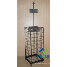 Напольная металлическая подставка для зонтов (pH15-111)