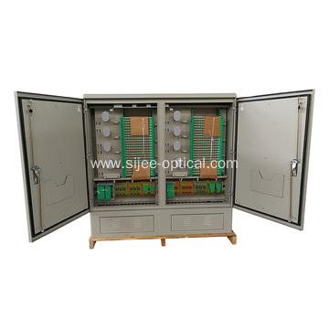 IP65 576-1152 Cores Fiber Optic Distribution Cabinet