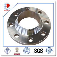 ASTM A182 F304L Wn Flange, RF, 300 Lb, 6 pouces, Sch 40, ANSI B16.5 Bride de cou de soudure