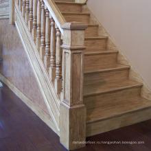 Цена U-образная Конструкция деревянный лестница