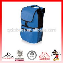 Refroidisseur isolé de sac à dos de polyester de sac à dos de sac de refroidisseur de pique-nique