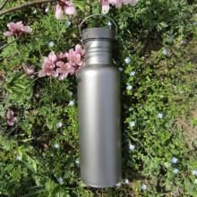 Garrafa de água de titânio para exterior