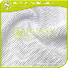 HD-0317 100 Tecido de malha de poliéster Tricot Air para têxteis-lar