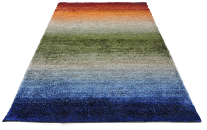 Polyester Gradational color Carpet