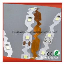 2016 Novo Produto SMD2835 300LEDs Pura Branco Faixa LED Brilhante