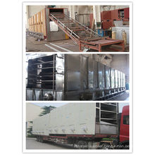 Noodle mesh-belt drying machine for foodstuff industry
