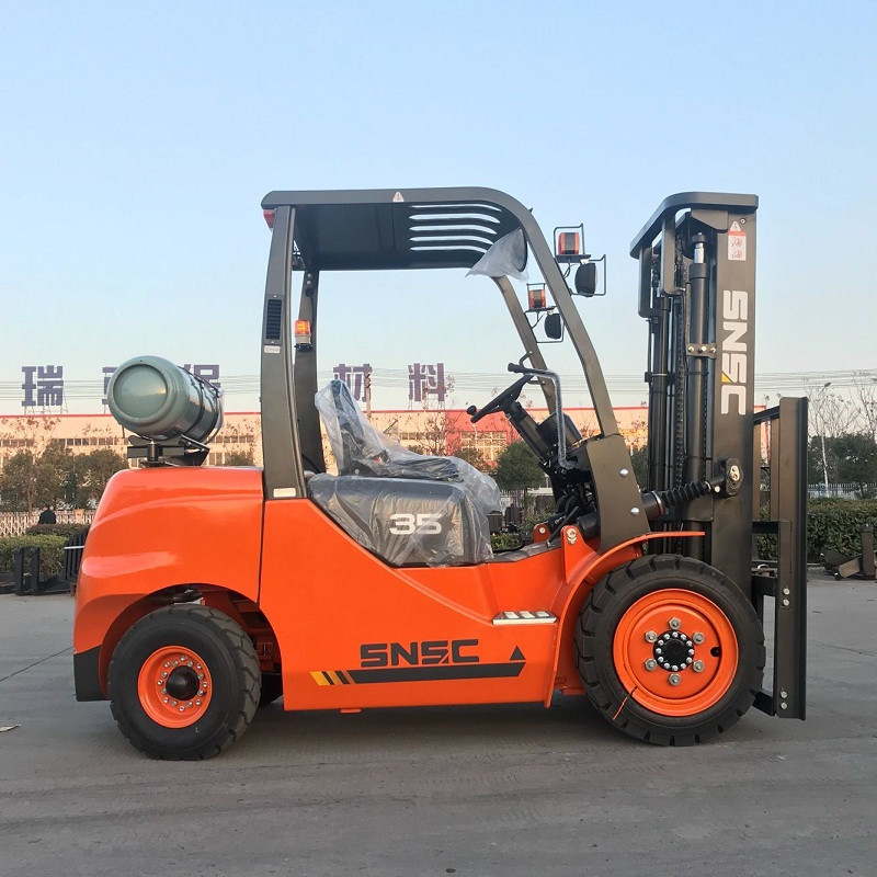 3.5Tons Dual Fuel Forklift Gas
